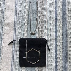 Marc Jacobs silver necklace
